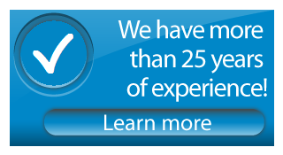 we have more than 25 years of experience! Learn more